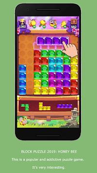 Block Puzzle: Honey Bee APK screenshot 1