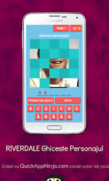 RIVERDALE Quiz APK screenshot 1