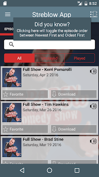 Daren Streblow Comedy Show APK screenshot 1