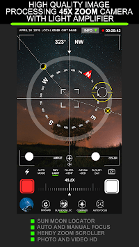 Telescope 45x Zoom Camera (Photo and Video) APK screenshot 1