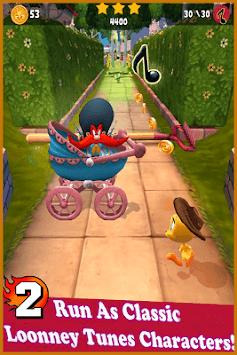 Looney Bunny Dash Rush 3D APK screenshot 1