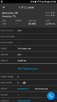 DAT Load Board for Truckers APK screenshot 1