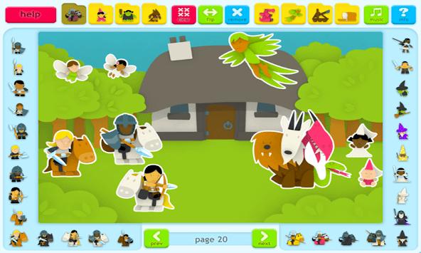 Sticker Book 2 Lite: Fantasy World APK screenshot 1
