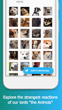 WAStickerApps - Animolz Stickers for chatting APK screenshot 1