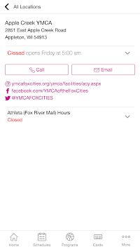 YMCA of the Fox Cities APK screenshot 1