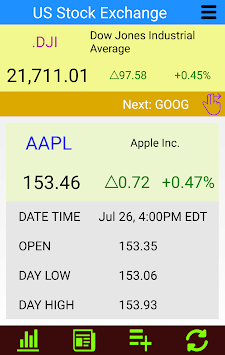 Stocks: US Stock Markets - Realtime Stock Quotes APK screenshot 1