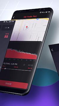 dB Meter - measure sound & noise level in Decibel APK screenshot 1