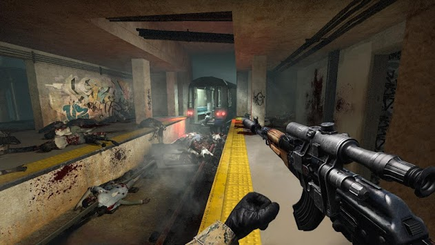 Death City : Zombie Invasion APK screenshot 1