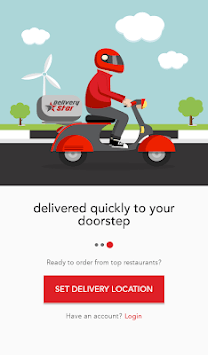 Delivery Star - Food Delivery App APK screenshot 1
