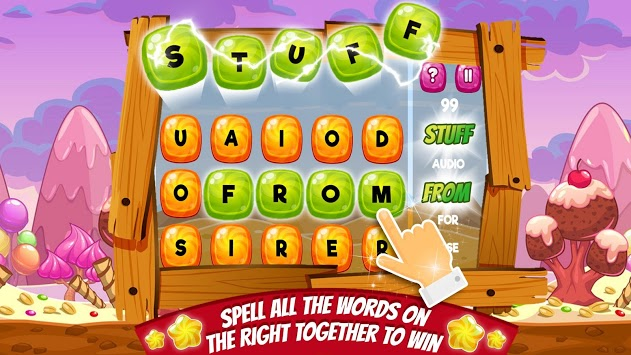 Candy Words -  Word Puzzle Match APK screenshot 1