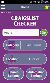The Craigslist Checker APK screenshot 1