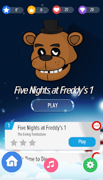 FNAF Piano Magic Tiles APK screenshot 1