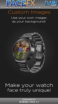 Face-FX HD Watch Face Widget & Live Wallpaper APK screenshot 1