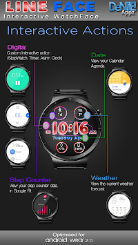 Line Face HD Watch Face Widget & Live Wallpaper APK Download