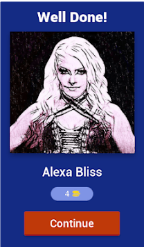 Wrestlemania Diva Superstars Quiz APK screenshot 1