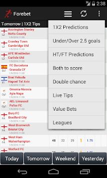 Football Predictions Forebet APK screenshot 1