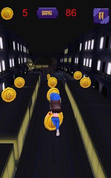 Subway Town: Princess Rush in Dark Night APK screenshot 1
