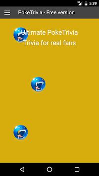 Trivia Quiz for Pokemon Fans APK screenshot 1