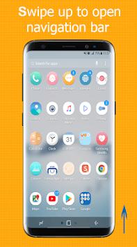 S9 - Note8  Navigation Bar (Not Root) APK screenshot 1