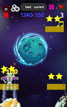 space shooter and shooting buzz APK screenshot 1