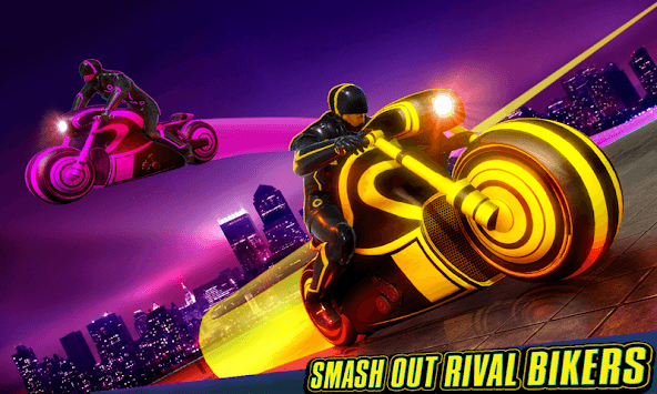 Light Bike Stunt Racing Game APK screenshot 1
