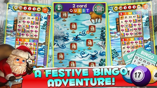 Santa Bingo - Xmas Magic APK screenshot 1