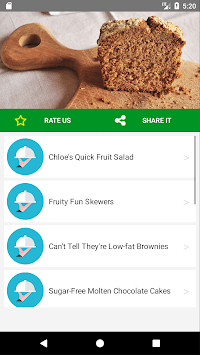 Top 10 Diabetic Dessert Recipes APK screenshot 1