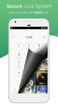 Dialer Vault - VaultDroid Hide Photo Video OS 10 APK screenshot 1