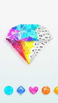 Diamond art - Diamond coloring & Easy  Relaxing APK screenshot 1
