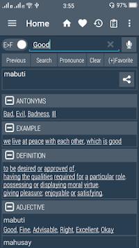 English Filipino Dictionary APK screenshot 1