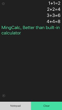 Easy Calculator - history calc APK screenshot 1