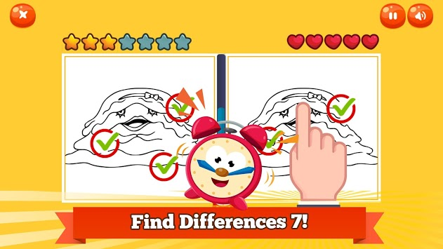 Find Differences 7 Yokai Photo APK screenshot 1