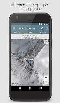My GPS Location APK screenshot 1