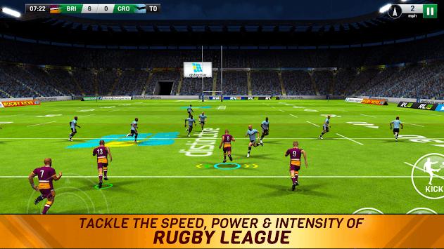 Rugby League 18 APK screenshot 1