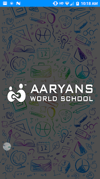 Aaryans World School APK screenshot 1