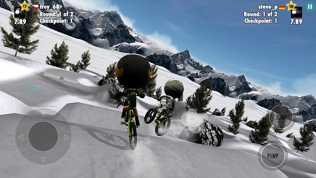 Stickman Bike Battle APK screenshot 1