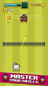 Timber Tennis APK screenshot 1