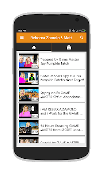 Rebecca Zamolo & Matt Videos APK screenshot 1