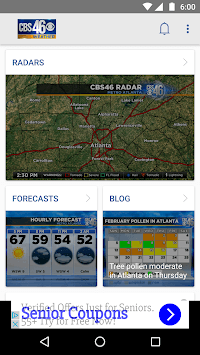 Atlanta Weather - CBS46 WGCL APK screenshot 1