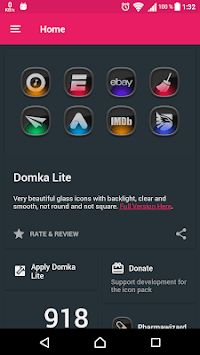 Domka Free - Icon Pack APK screenshot 1
