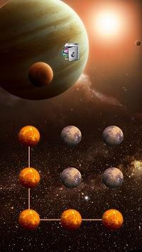 AppLock Theme Universe APK screenshot 1