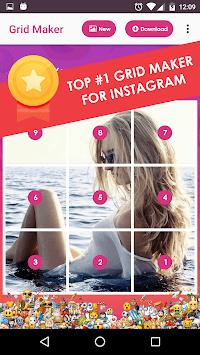 InstGrid Photo Grid Maker for instagram APK screenshot 1