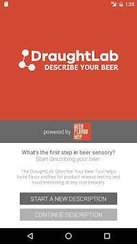 DraughtLab: Describe Your Beer APK screenshot 1
