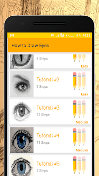 How to Draw Eyes APK screenshot 1