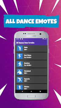 Viewer Dance: All Battle Royale Dances and Emotes APK screenshot 1