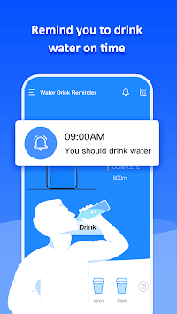 Drink Water Reminder - Daily Water Tracker APK screenshot 1