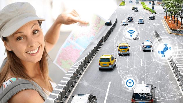 Driving Maps Navigator & Traffic Alerts APK screenshot 1