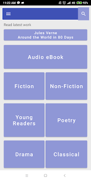 Free Audio eBook(Fiction, Young Readers, Poetry) APK screenshot 1