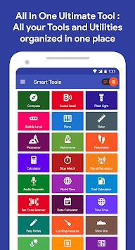 Smart Tools : Compass, Calculator, Ruler, Bar Code APK screenshot 1