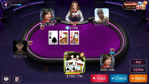 DH Poker - Texas Hold'em Poker APK screenshot 1